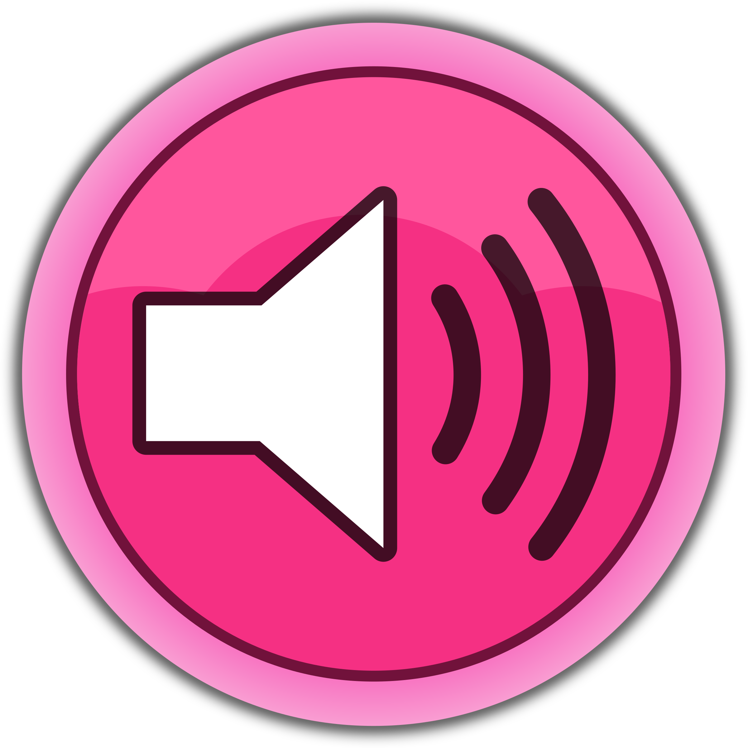 Sound Button Clipart.