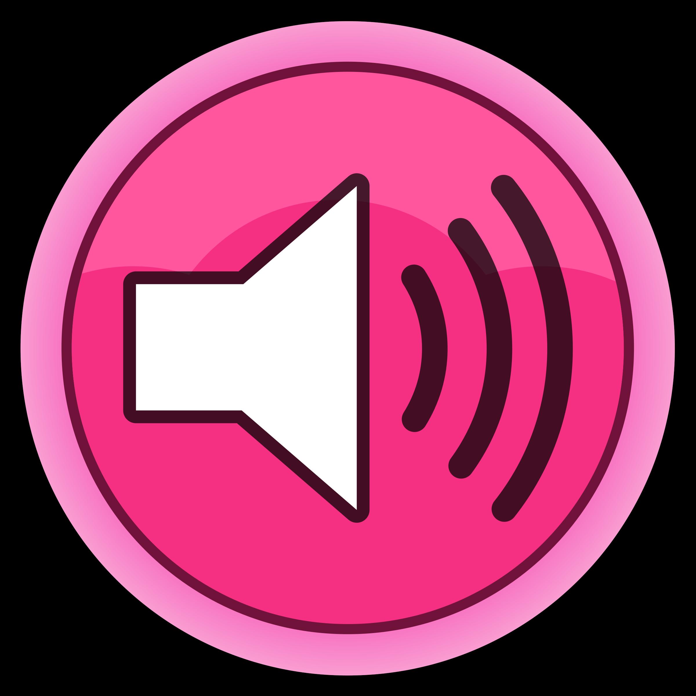 Sound Button Clipart.