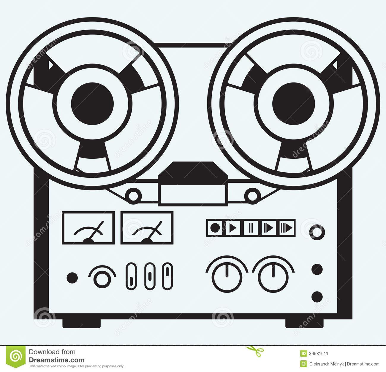 Voice Recorder Clip Art.