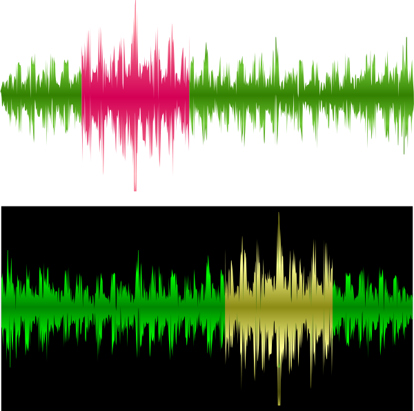 Sound Wave Recording Clip Art at Clker.com.