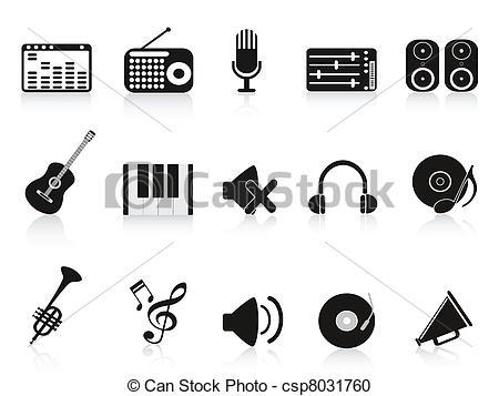 Sound recording equipment Clip Art Vector Graphics. 2,362 Sound.