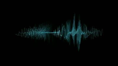 Audio spectrum clipart.