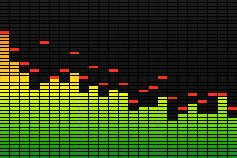 Sound Spectrum Clipart