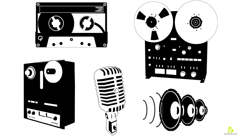 Recording Sound Studio Collection.