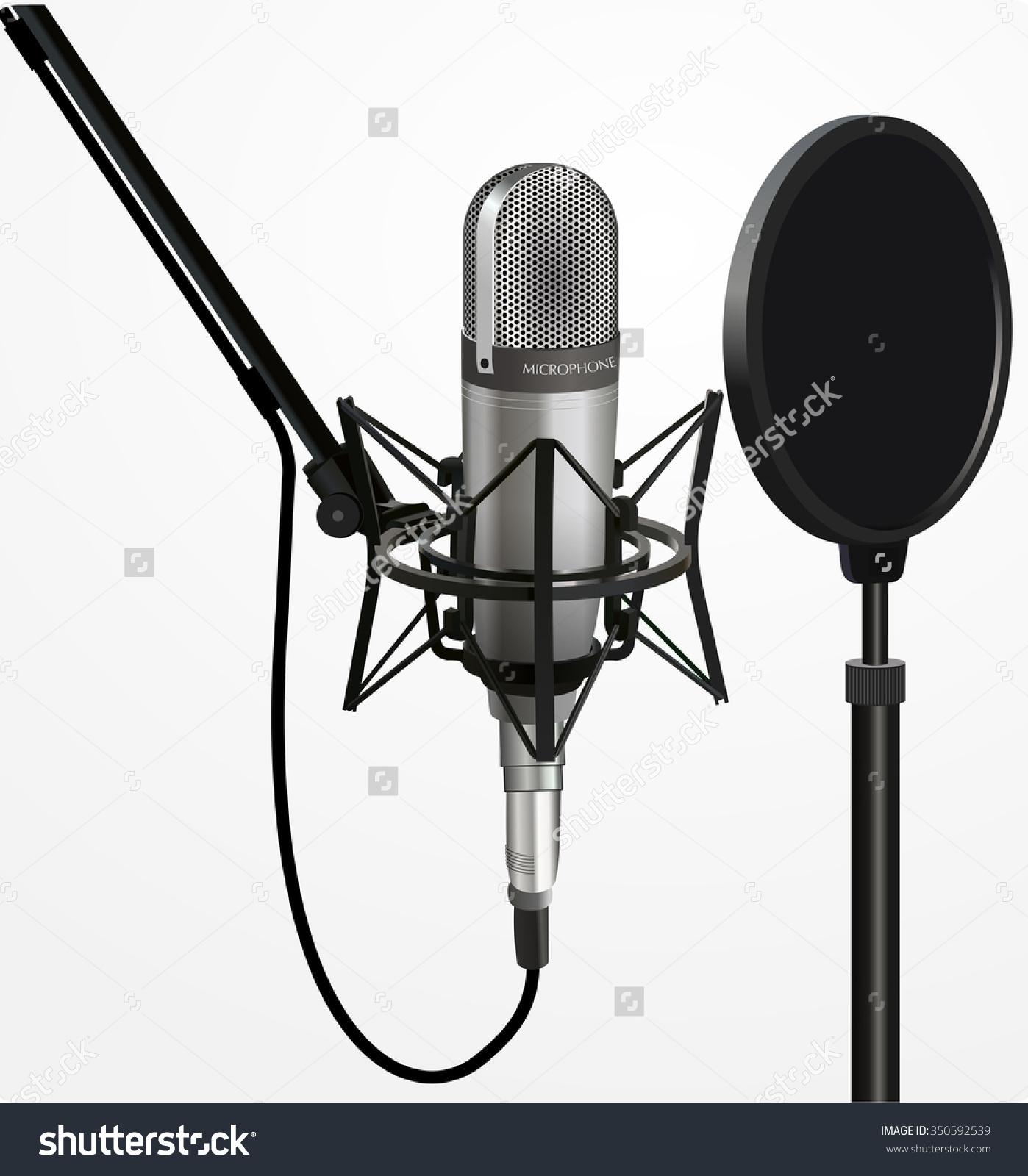 Sound recording clipart.
