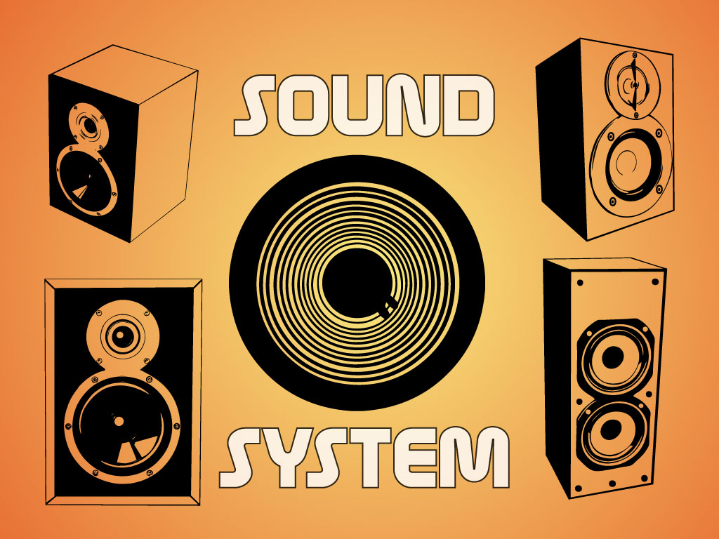 Sound System Graphics.