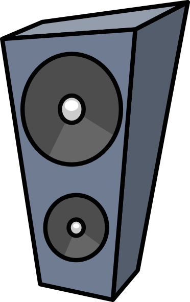 Cartoon Speaker Clip Art at Clker.com.