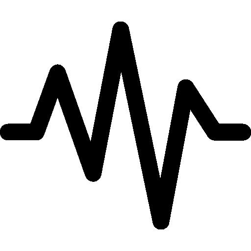 Audio wave Icons.