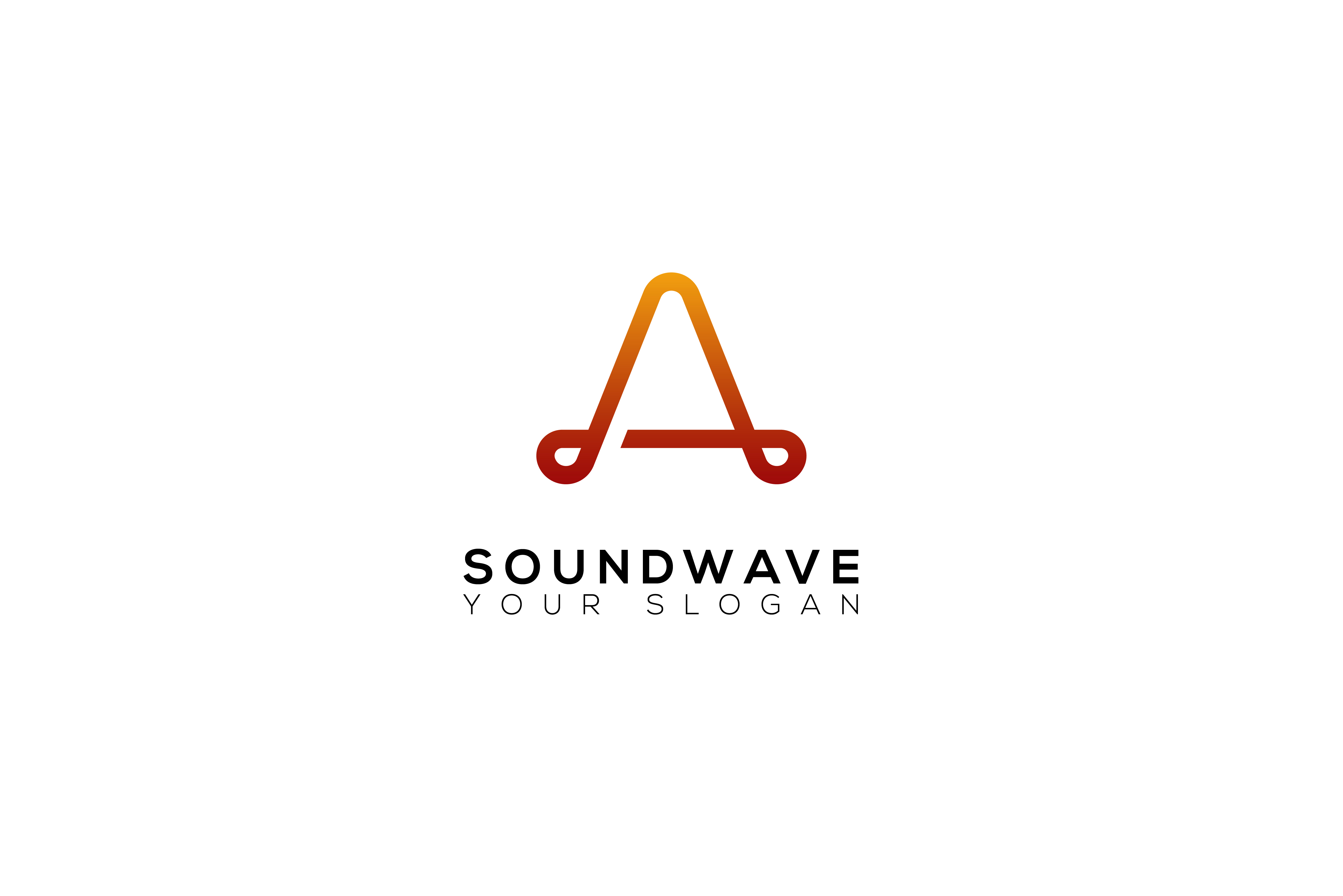 Simple Sound Wave Logo.