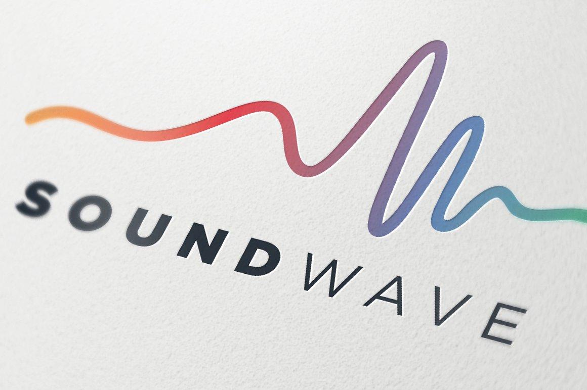 Sound wave Logos.
