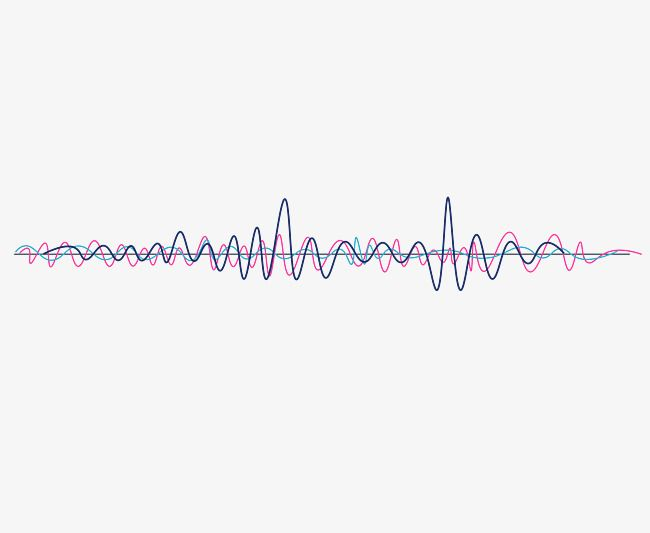 Vector Psychedelic Sound Wave Curve Png Picture, Psychedelic.