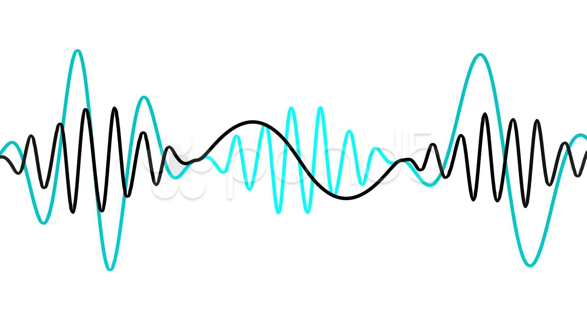 sound waves.