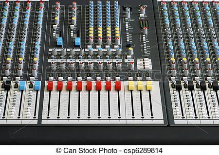 Soundboard Clip Art.