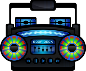 Mini Boom Box Clip Art at Clker.com.