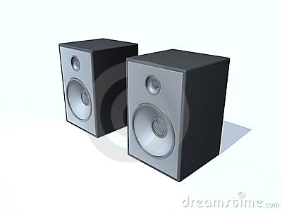 Sound Box Royalty Free Stock Photography.
