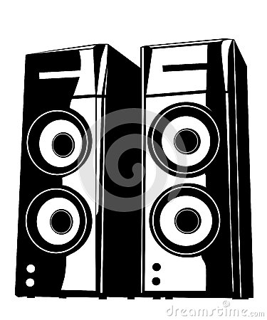 Speaker Royalty Free Stock Image.