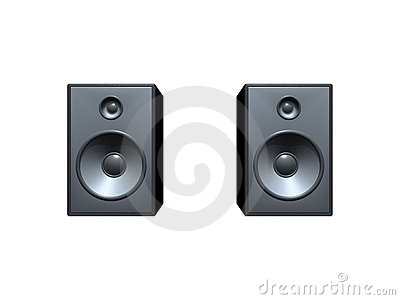 Sound Box Royalty Free Stock Photo.