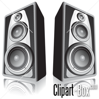 CLIPART SPEAKERS.
