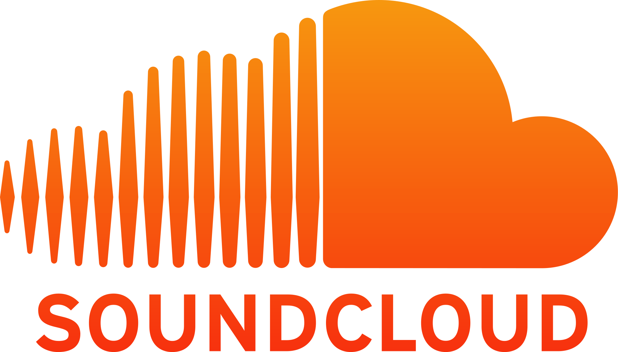 Soundcloud Logo transparent PNG.