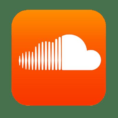 Soundcloud Icon transparent PNG.