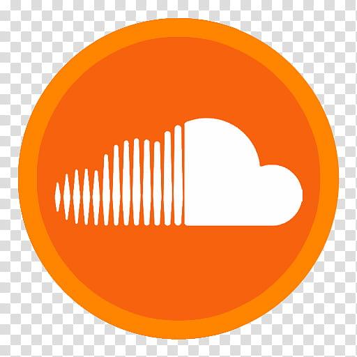 SoundCloud Logo transparent background PNG clipart.