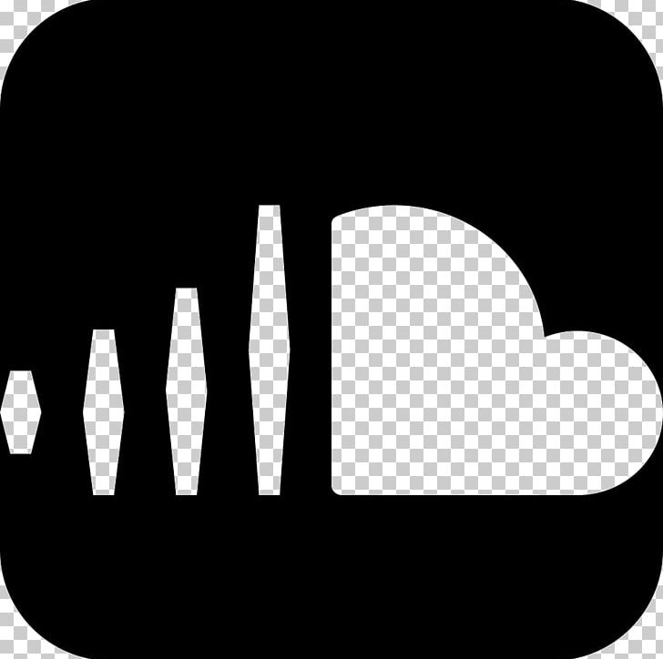 SoundCloud Logo Music PNG, Clipart, Black, Black And White.