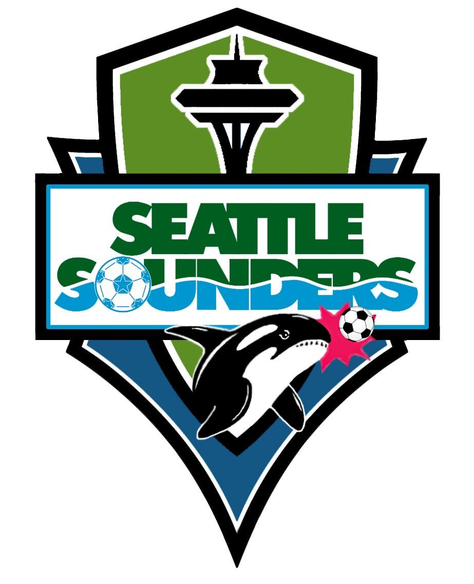 Sounders logo using elements from previous logos. : SoundersFC.