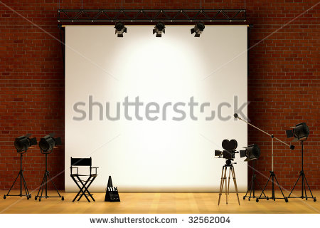 Sound Stage Stock Images, Royalty.