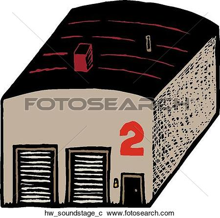 Clipart of sound stage hw_soundstage_c.