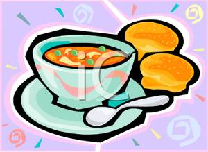 Vegetable Soup Clipart.