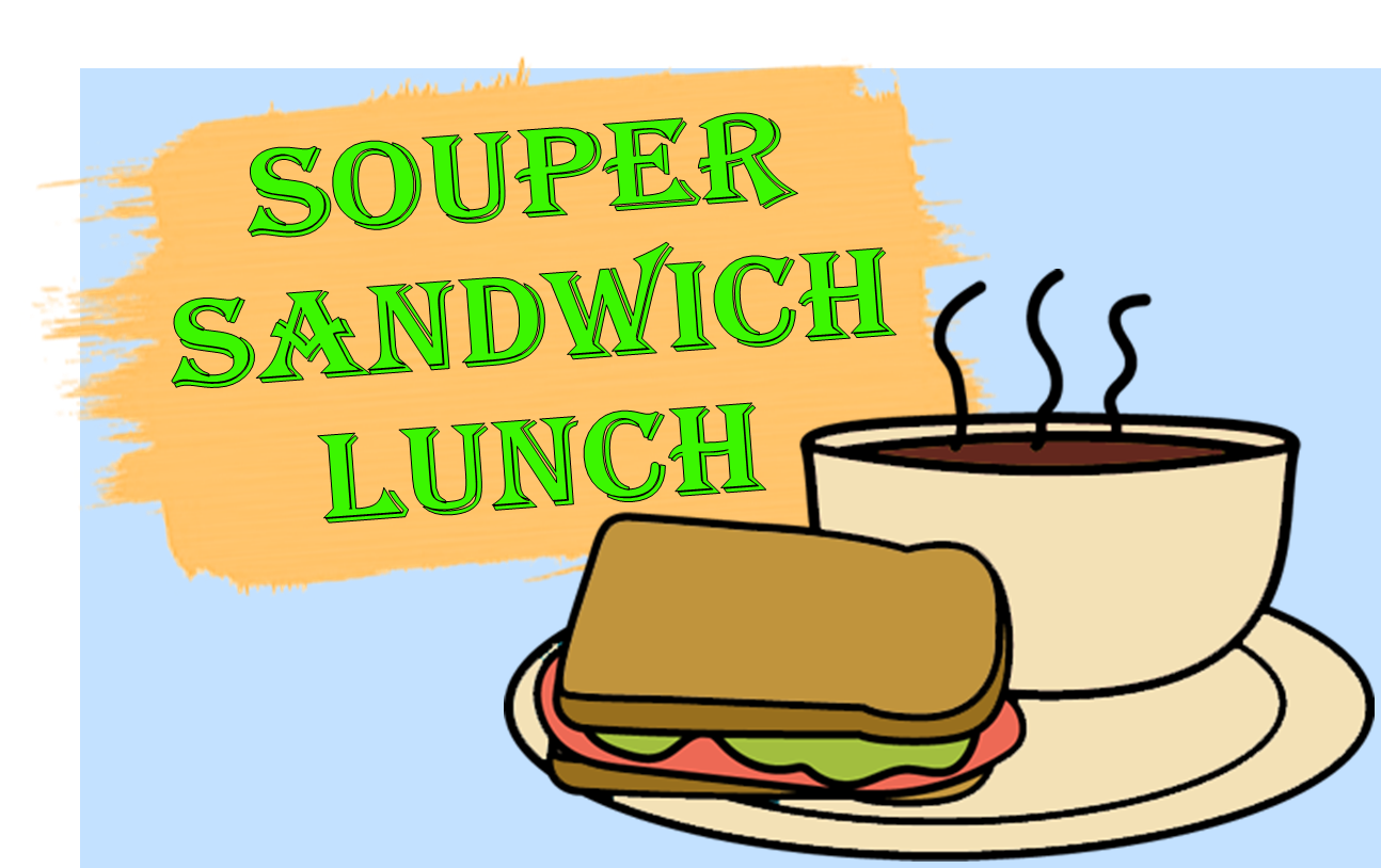 Flyer Distribution for Soup & Sandwich Lunch.