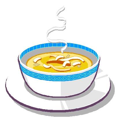 Bowl Of Soup Clipart.