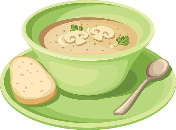 Soup Greens Clip Art, Vector Images & Illustrations.