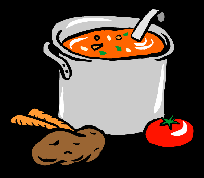 Soup Kettle Clipart.