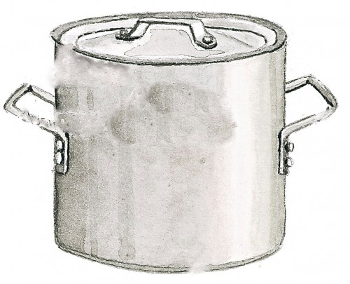 Clipart soup pot.