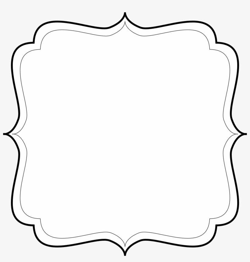 White Png Label With No Background & Free White Label With.