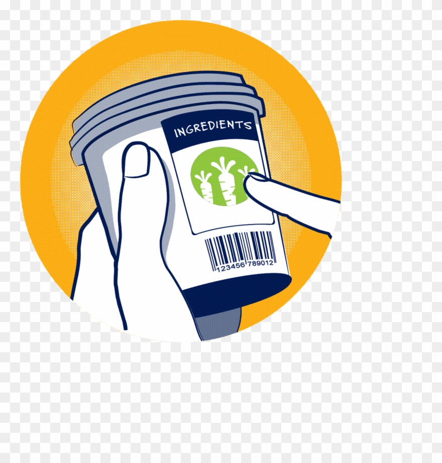 Food Label Clipart.