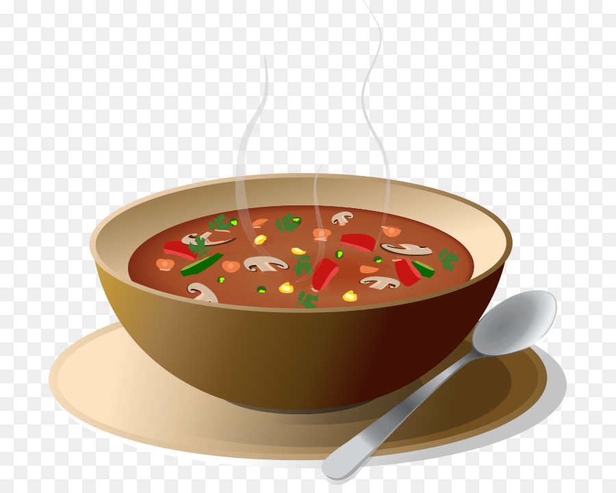 Soup clipart cooked vegetable, Soup cooked vegetable.