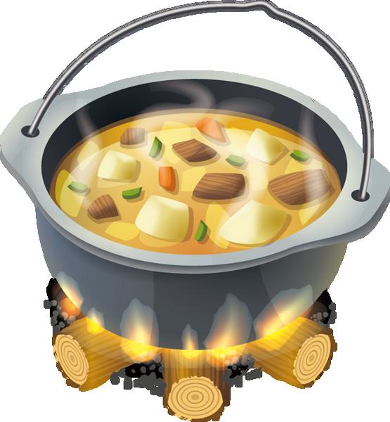 Marmite de soupe png, tube nourriture.