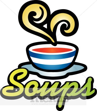 Soup Of The Day Clipart.