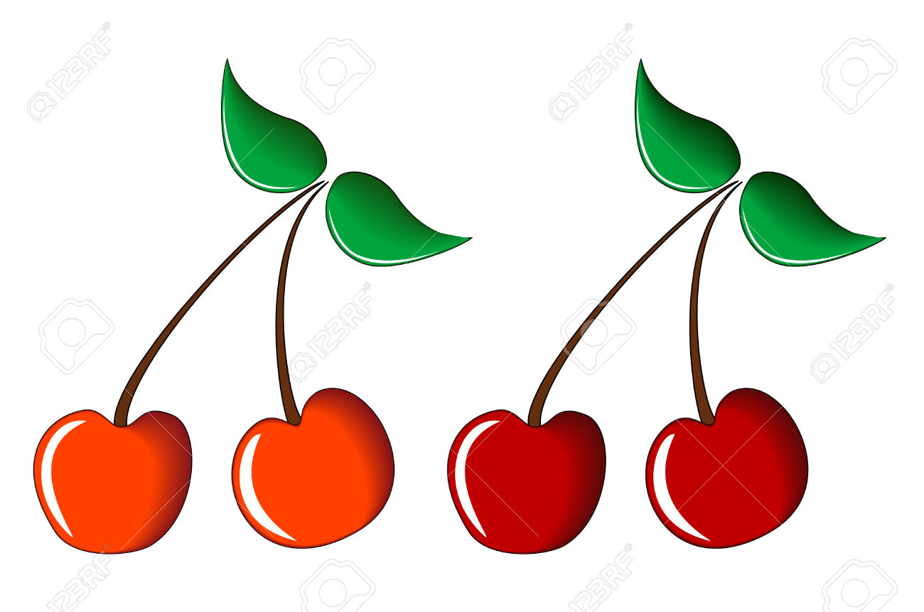 Sweet And Sour Cherry Royalty Free Cliparts, Vectors, And Stock.