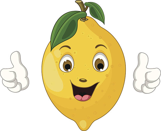 Lemon Face Clipart.
