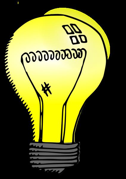 Incandescent light bulb Clipart, vector clip art online, royalty.