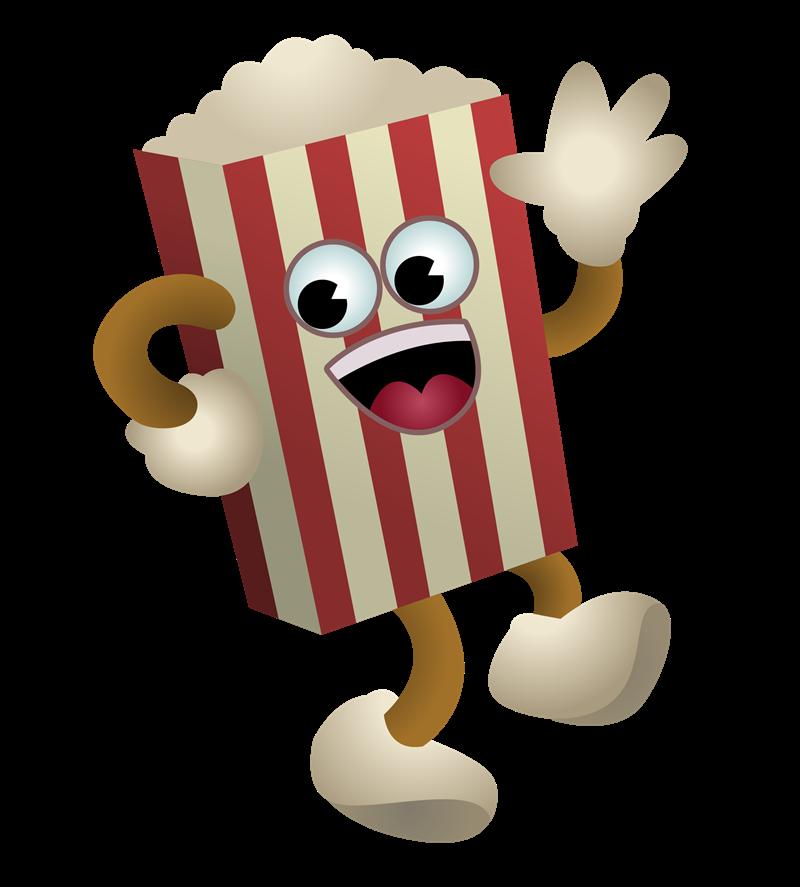 Free to Use & Public Domain Popcorn Clip Art.