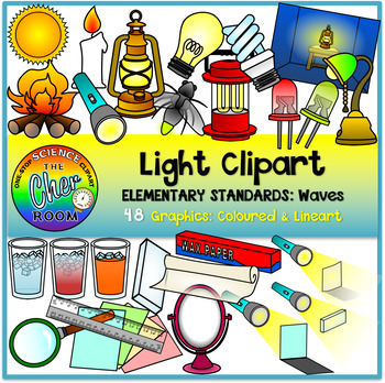 Light Clipart (Elementary Standard: Waves).