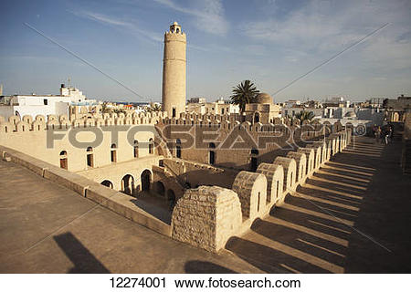 Stock Photography of The Ribat; Sousse, Tunisia 12274001.