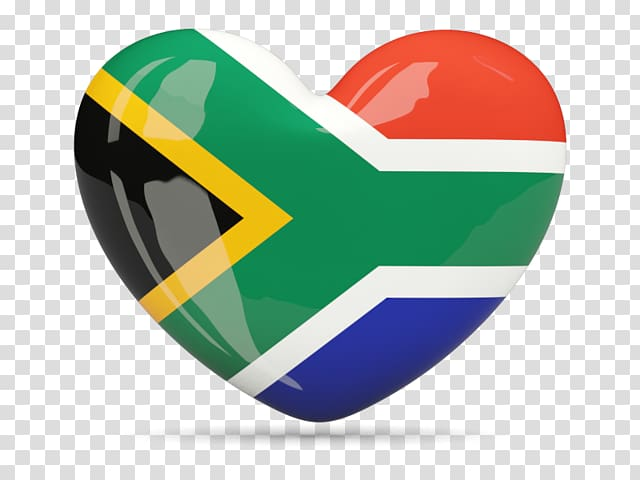 Flag of South Africa , Flag transparent background PNG.