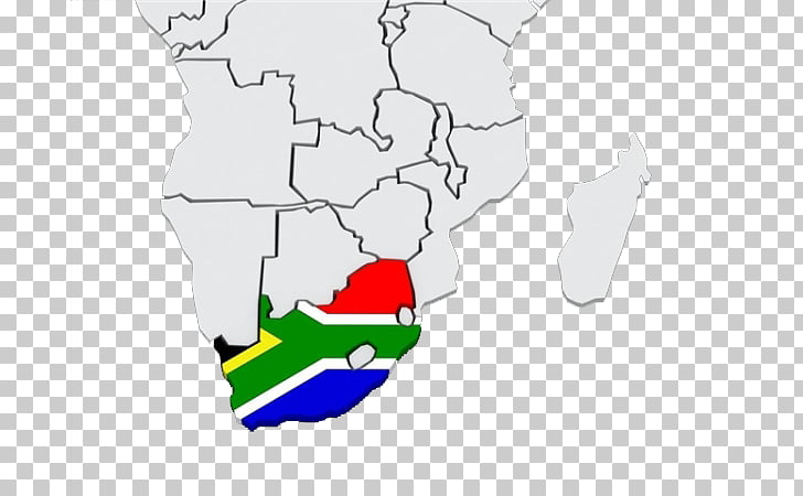 South Africa Map, 3D South Africa Map PNG clipart.