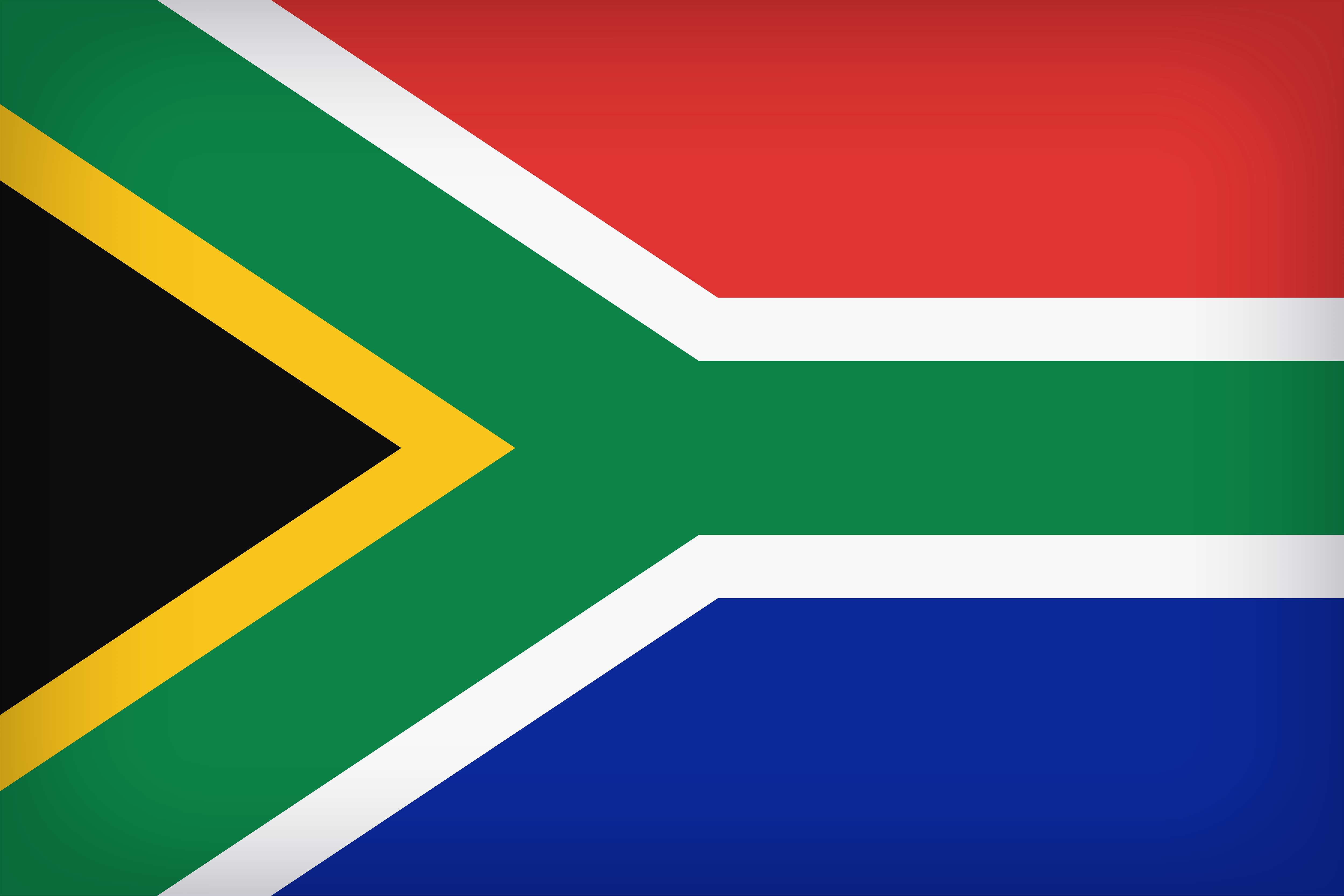 South Africa Large Flag.