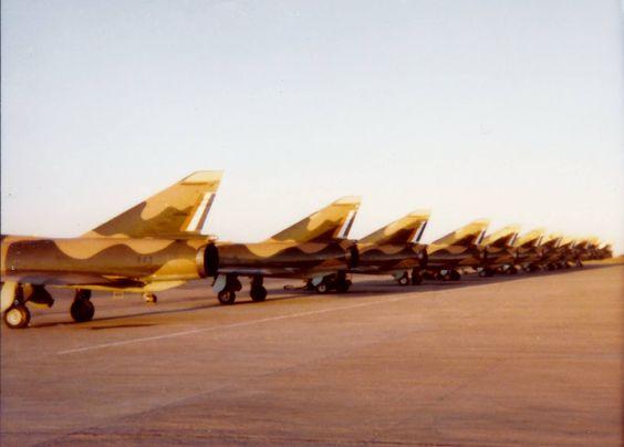 SAAF Mirage F1CZ.